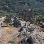 Бар, развалины старого города